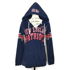 Victoria Secret NFL New England Patriots Hoodie M